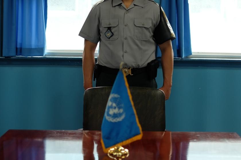 dmz jsa panmunjeom south north korea
