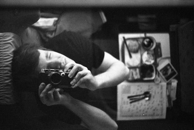 thalys selfie zug train analog leica