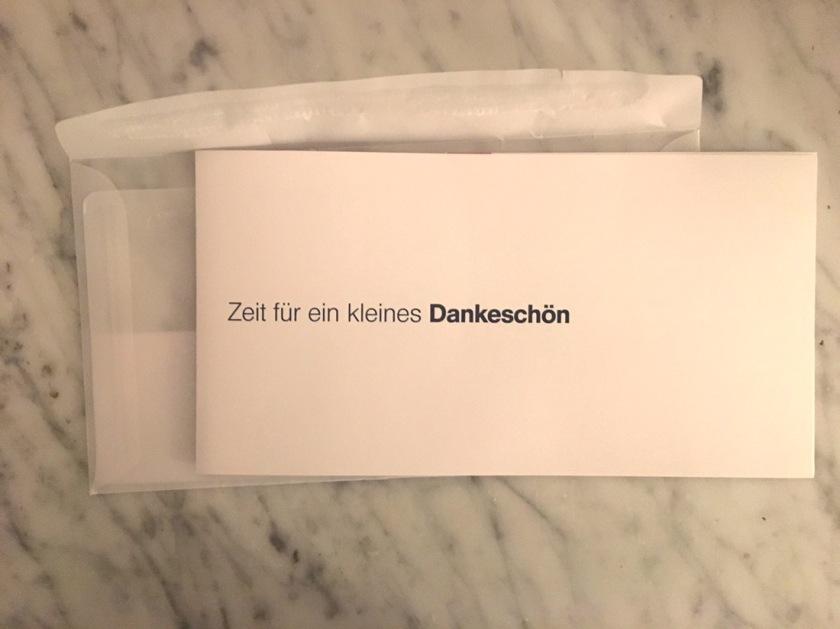 miles and more m&m telekom dankeschön