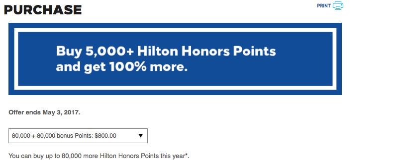 Honors Punkte mit 100%Bonus